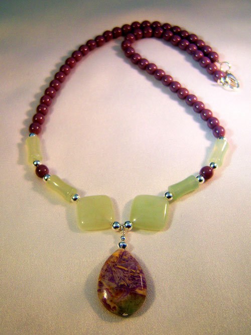 handcrafted necklace by cilla